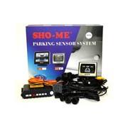 "Камера заднего вида с монитором 2,5"" и датчиками парковки SHO-ME KDR-25Silver"